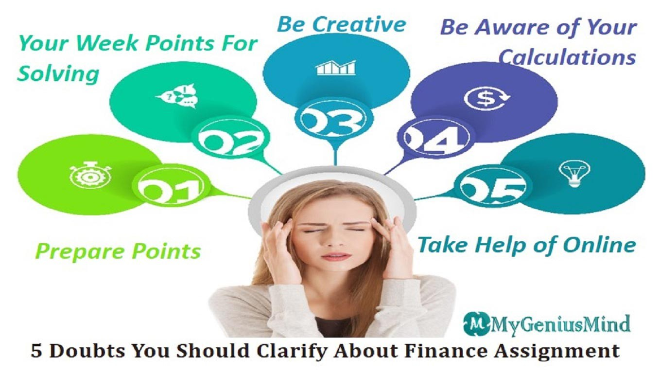 5 Doubts You Should Clarify About Finance Assignment
