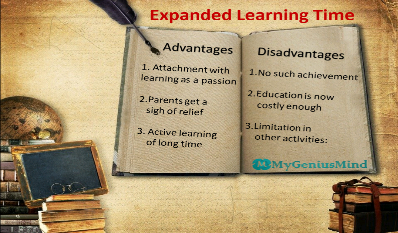 Expanded Learning Time: Advantages And Disadvantages